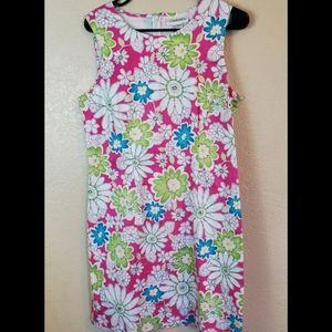Chadwicks Sleeveless Floral Tea Party Boho Dress